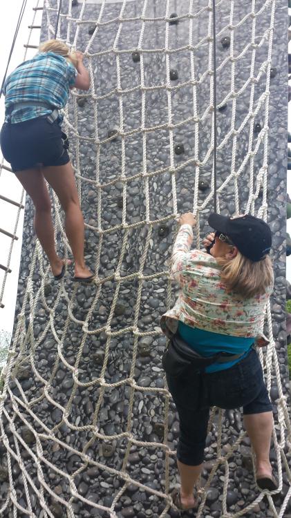 24' Ninja Warrior Climbing Tower